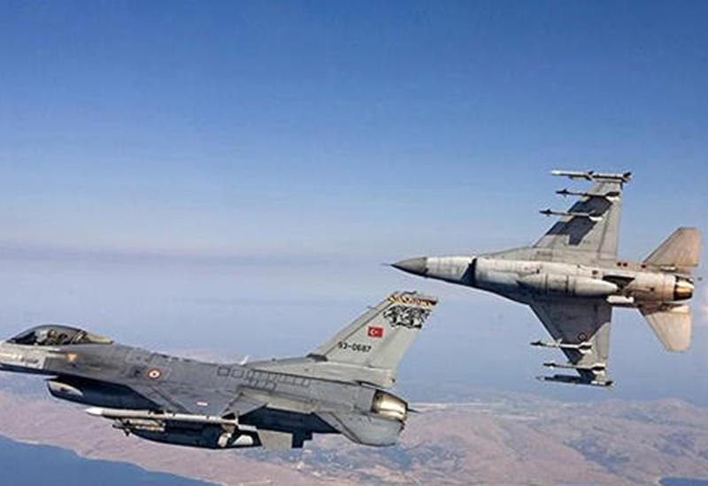 ВС Турции уничтожили 20 объектов террористов в Сирии