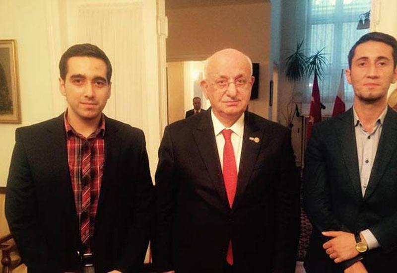 """TBMM sədri: """"Azərbaycan və türk diasporu daha sıx əməkdaşlıq etməlidirlər"""""""