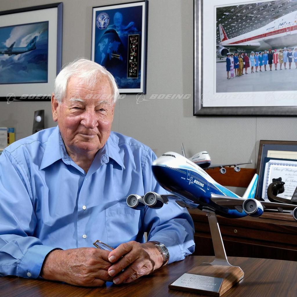Скончался главный конструктор Boeing 747 Джо Саттер