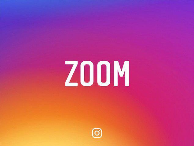 Социальная сеть Instagram добавил увеличение изображений вовремя просмотра в дополнении для iOS