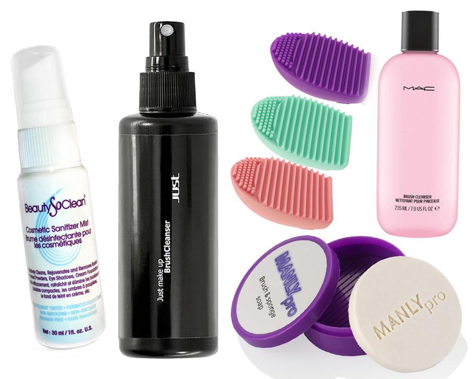 Дезинфицирующие средства кисти для макияжа