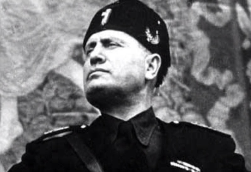 Расшифровано послание Муссолини потомкам