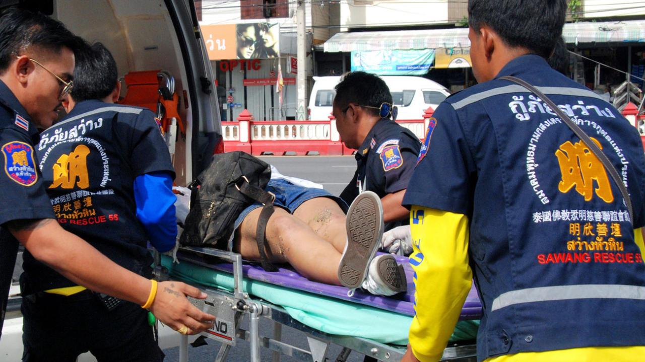 В итоге взрыва нажелезнодорожной станции вТаиланде умер один человек
