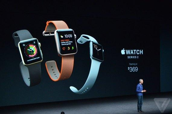 Apple представила новый тип умных часов Apple Watch