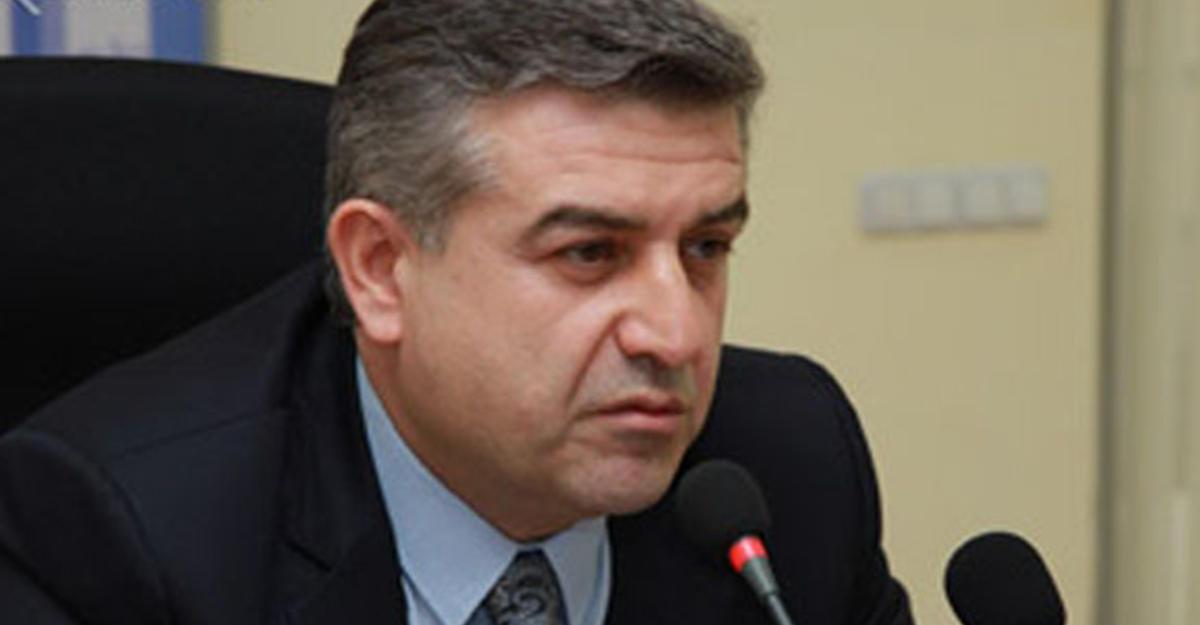 Премьер иглава МИД Армении уходят вотставку