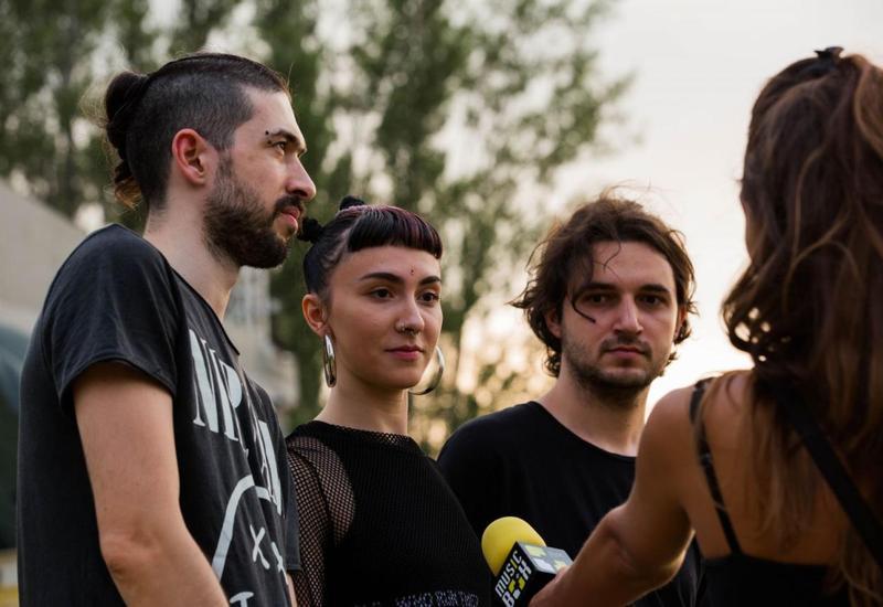 """Азербайджанская группа выступила на фестивале в Тбилиси <span class=""""color_red"""">- ВИДЕО</span>"""
