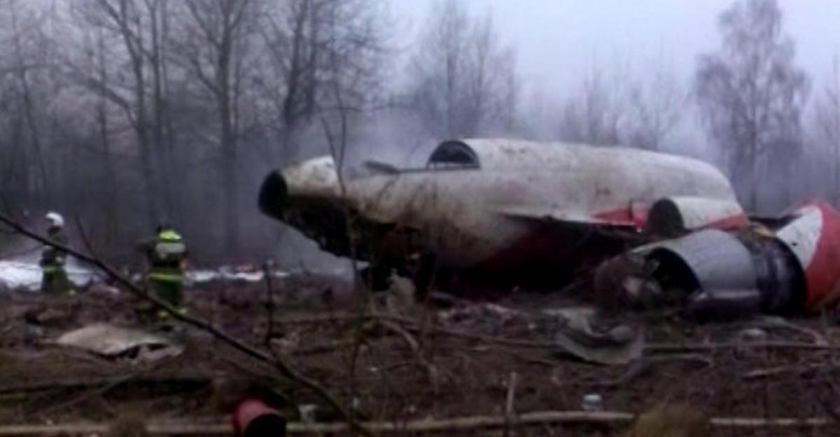 ВПольше афишировали новые данные о изучении крушения самолета Качиньского