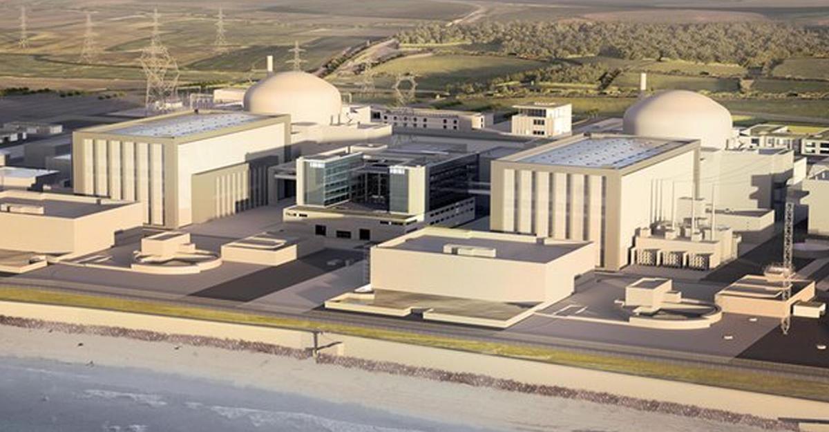 Руководство Англии одобрило проект возведения АЭС Hinkley Point C