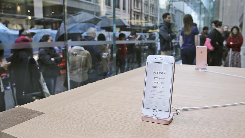 У компании Apple для россиян закончились iPhone 7