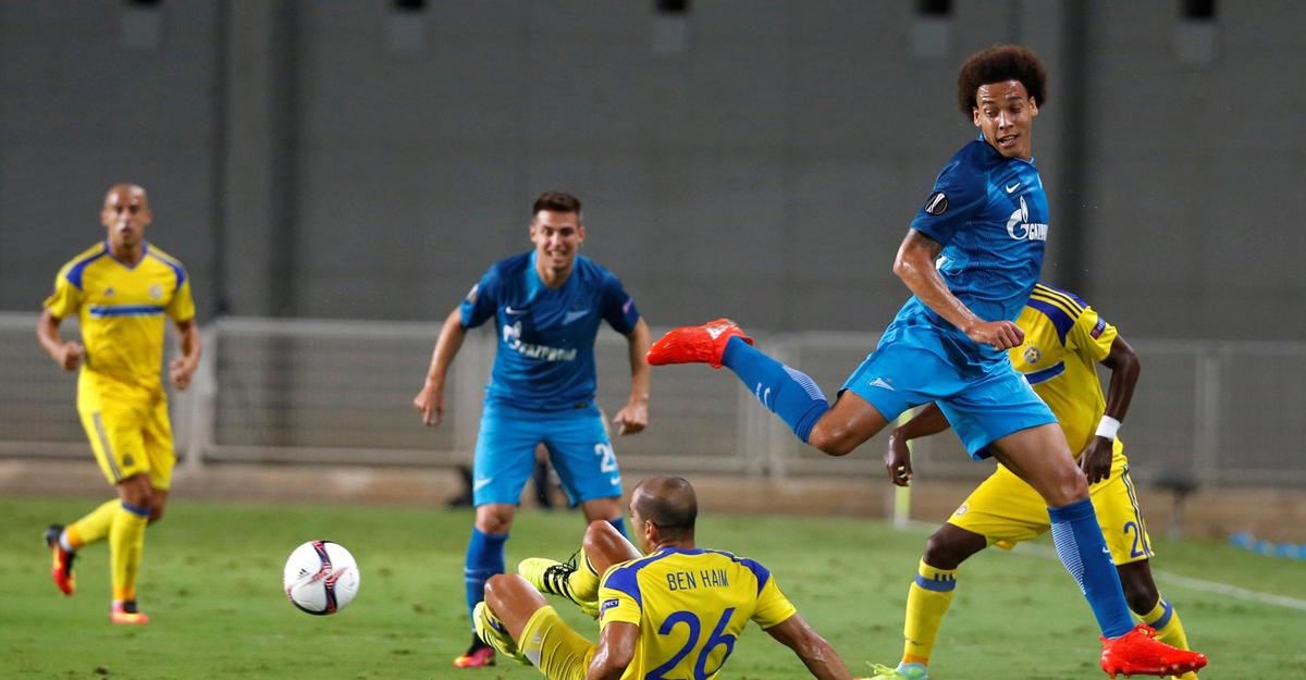Жулиано попал вкоманду недели Лиги Европы