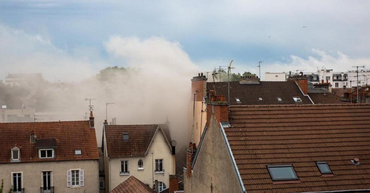 Вцентре французского города Дижон произошел взрыв, множество раненых