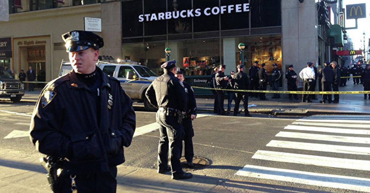Подозрительный предмет врайоне взрыва наМанхэттене оказался сковородкой