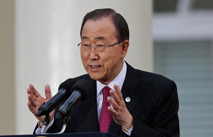 Будущее Сирии недолжно зависеть отсудьбы Асада— генеральный секретарь ООН