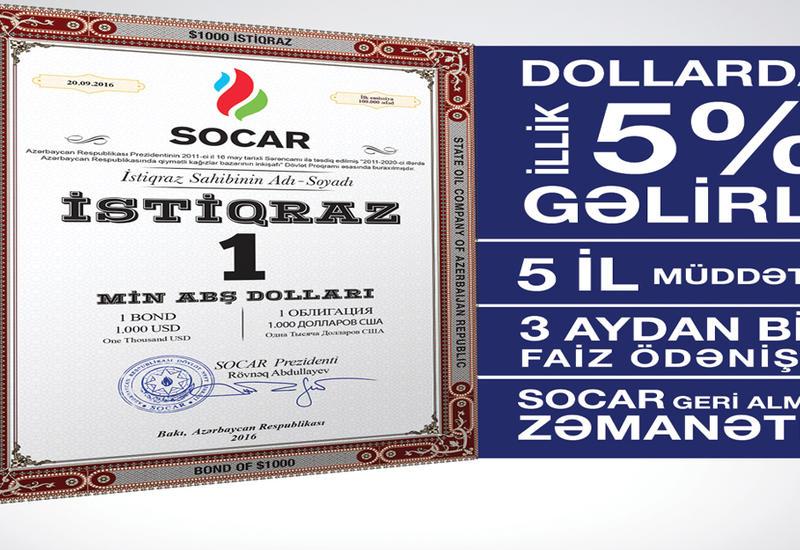 Azərbaycan Respublikasının Dövlət Neft Şirkətinin (SOCAR) istiqrazlarının geriyə alış təminatı