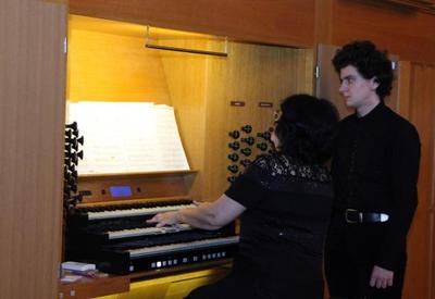 """Фестиваль Узеира Гаджибейли: Красота органной музыки <span class=""""color_red"""">- ФОТО</span>"""
