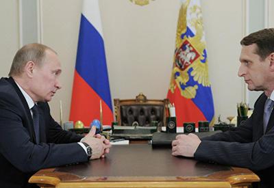 Путин предложил Нарышкину очень важный пост