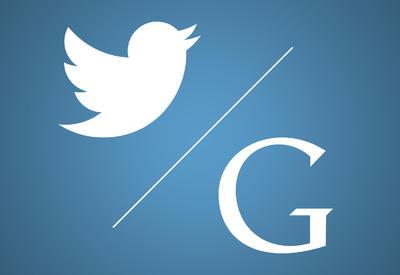 Google хочет купить Twitter