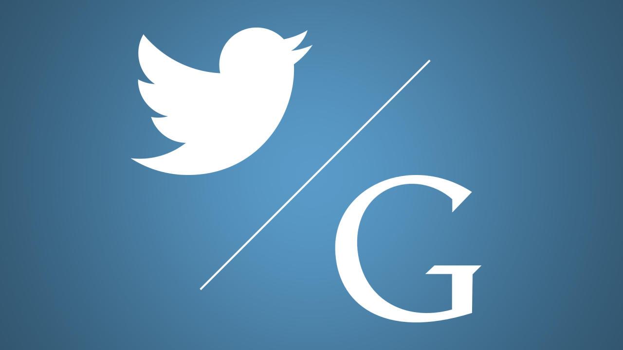 Google либо Apple. Акции социальная сеть Twitter нафоне слухов опродаже поползли вверх