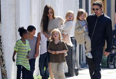 Странные методы воспитания Анджелины Джоли