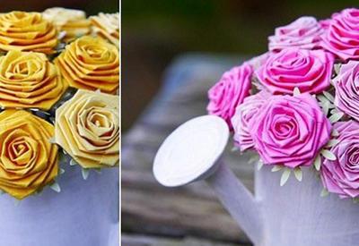 """4 способа сделать розу из бумаги <span class=""""color_red"""">- ФОТО</span>"""