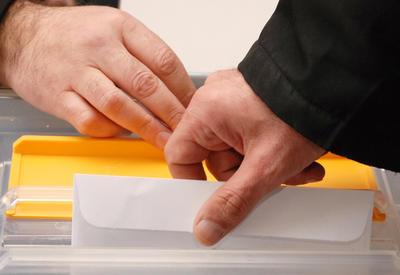 Граждане Грузии голосуют на парламентских выборах в Баку