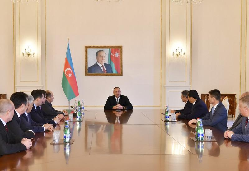 """Президент Ильхам Алиев: Азербайджан не раз доказал способность противостоять любым угрозам <span class=""""color_red"""">- ФОТО</span>"""