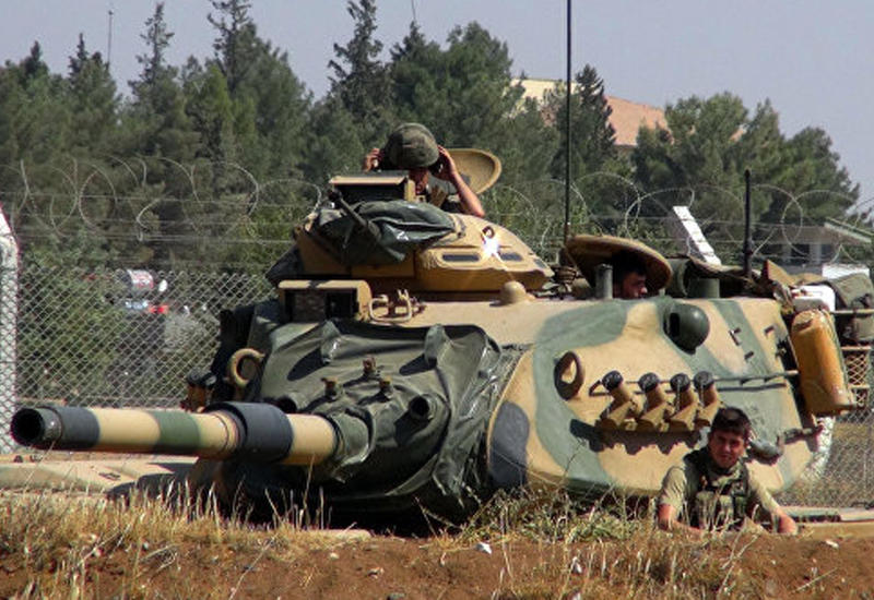 """Беспилотники """"ИГ"""" нанесли удар по турецким позициям в Сирии"""
