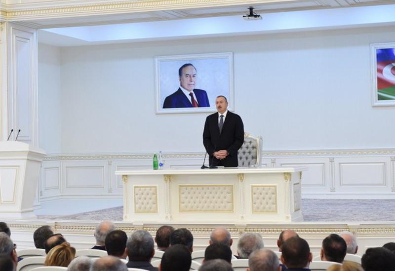 Президент Ильхам Алиев: Азербайджанский народ выбирает безопасность, стабильность, развитие, достоинство и независимость