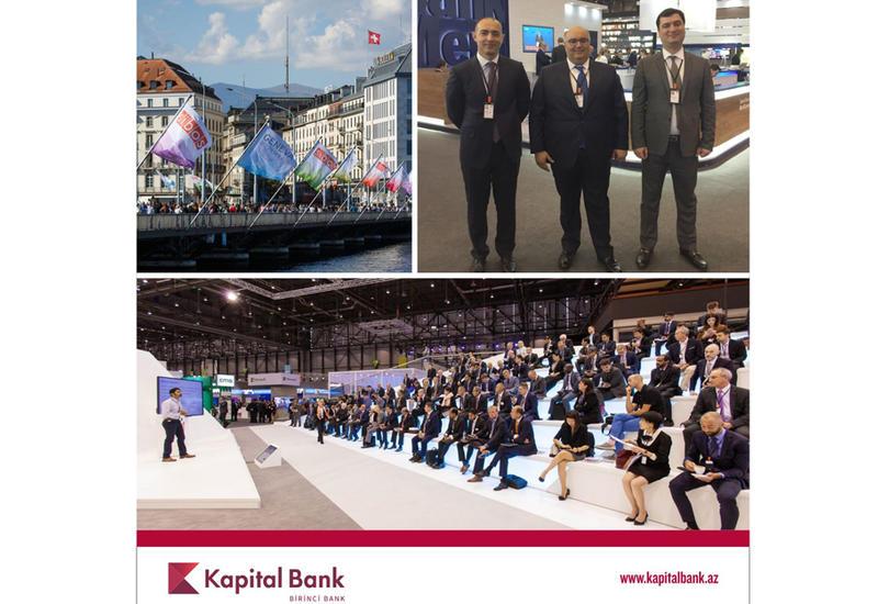 Kapital Bank участвует в международной выставке SIBOS-2016