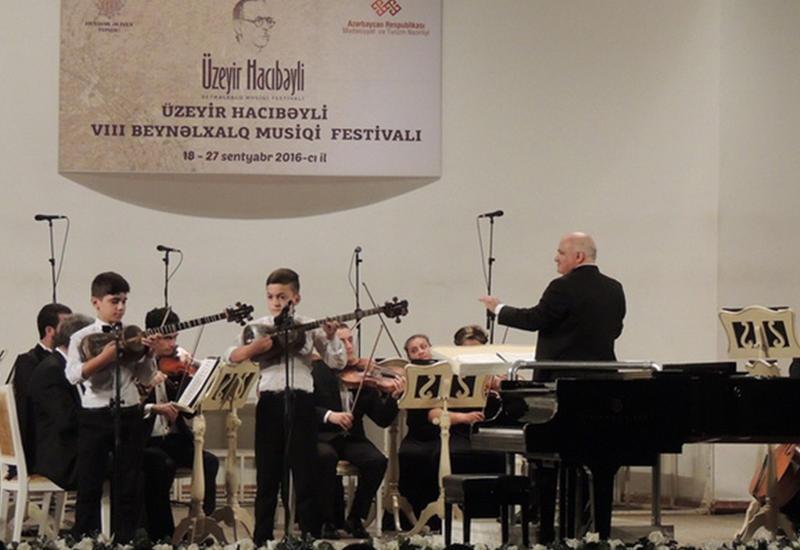 """Юные таланты школы им. Бюльбюля выступили на сцене Филармонии <span class=""""color_red""""> - ФОТО</span>"""