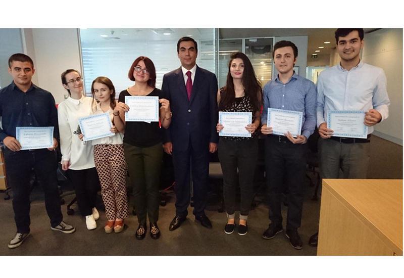 SOCAR наградила студентов БВШН