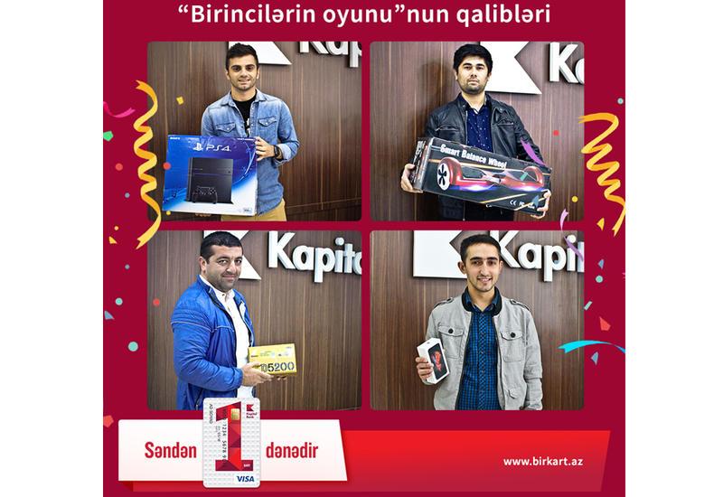 Kapital Bank наградил победителей конкурса