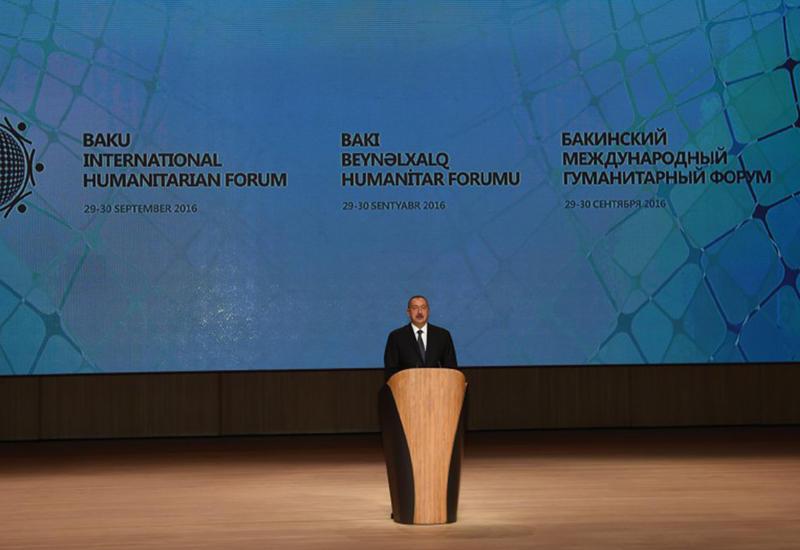 Президент Ильхам Алиев: История Азербайджана построена на мультикультурализме