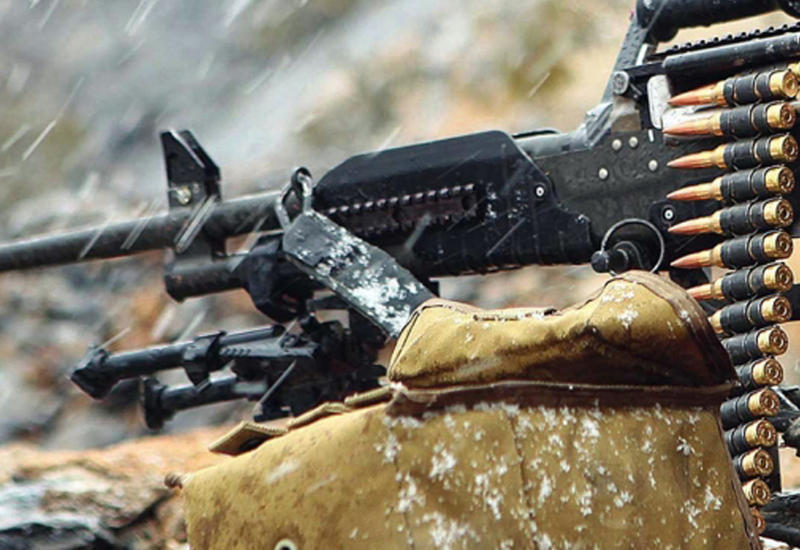 Армяне обстреляли позиции азербайджанских войск