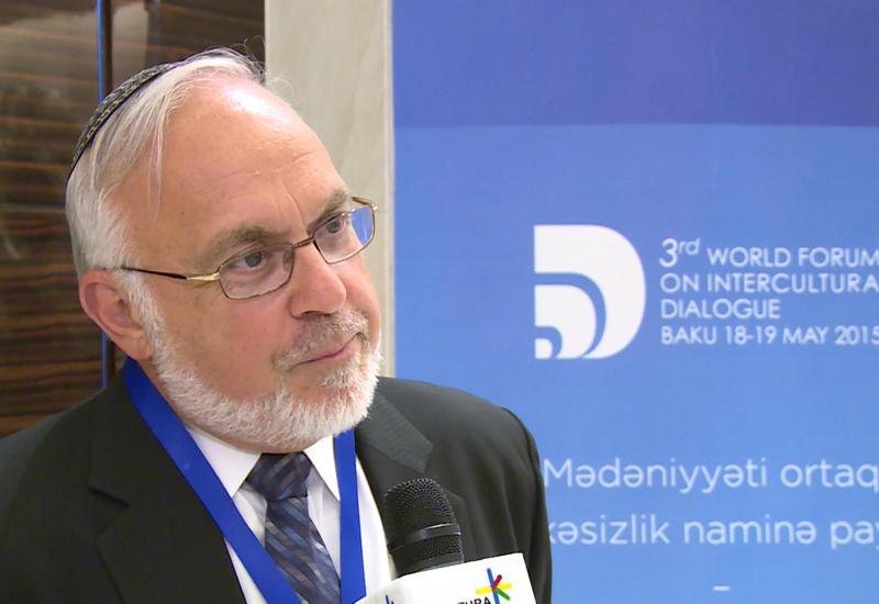 Авраам Купер: Азербайджан всегда отдавал предпочтение традициям толерантности