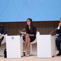 """Лейла Алиева: Пришло время принимать твердые решения и действовать <span class=""""color_red"""">- ФОТО</span>"""