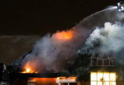 """В Германии загорелась больница, есть погибшие <span class=""""color_red"""">- ВИДЕО</span>"""