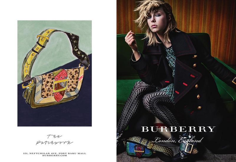 """Новая коллекция Burberry: мода в стиле PATCHWORK! <span class=""""color_red"""">- ФОТО</span>"""