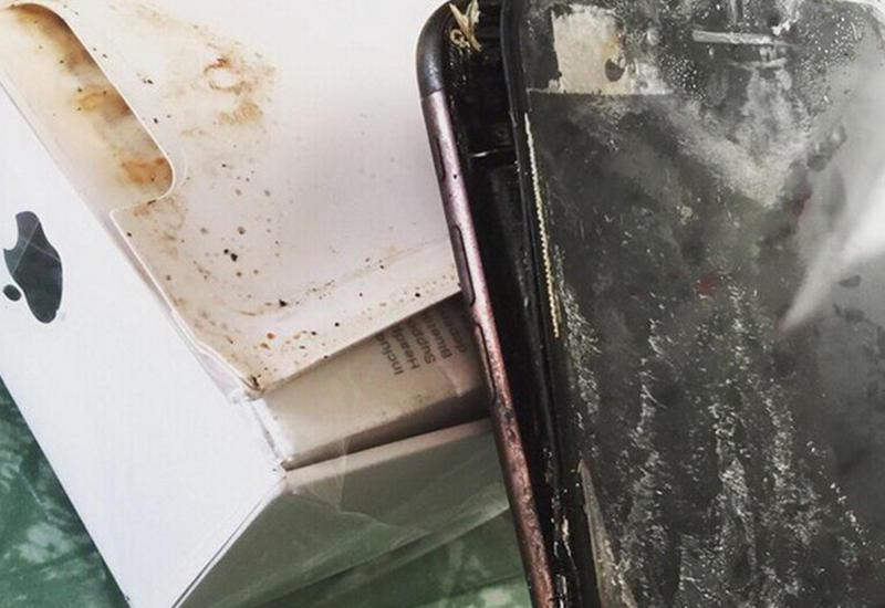 """Новые iPhone 7 взрываются <span class=""""color_red"""">- ПОДРОБНОСТИ - ФОТО</span>"""