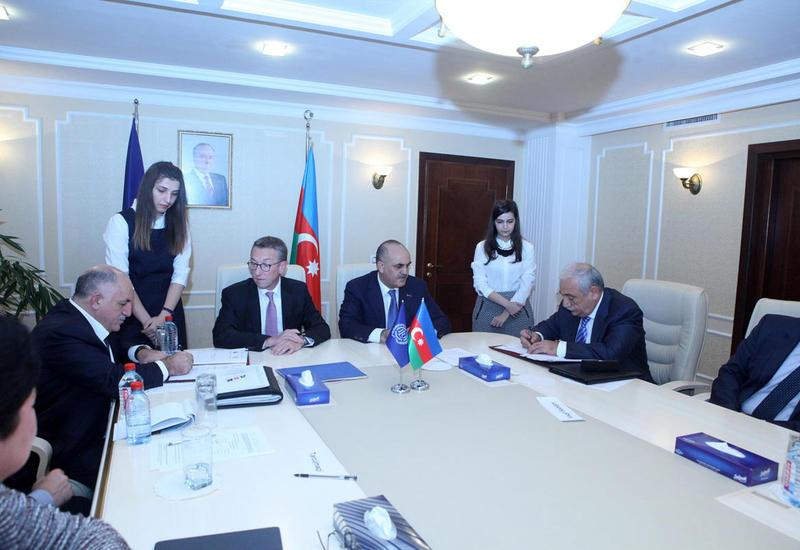 """В Азербайджане создана Трехсторонняя комиссия по социальным и экономическим вопросам <span class=""""color_red"""">- ФОТО</span>"""