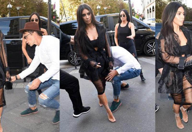 Ким Кардашьян опозорили на Неделе моды в Париже