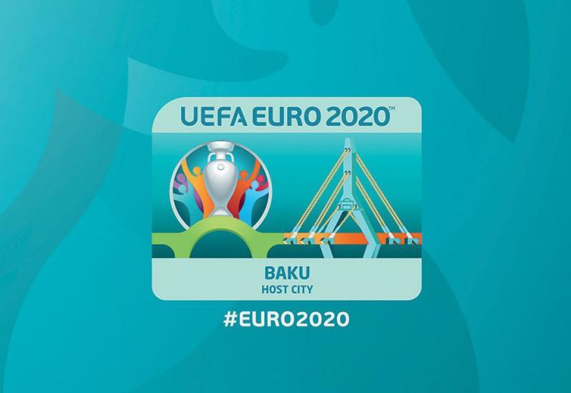 "Состоялась презентация бакинского лого чемпионата Европы-2020 по футболу <span class=""color_red"">- ФОТО</span>"