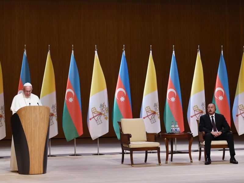 Состоялась церемония официальной встречи Папы Римского Франциска