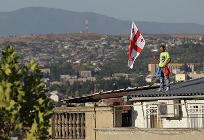 """""""Грузинская мечта"""" празднует победу на выборах"""