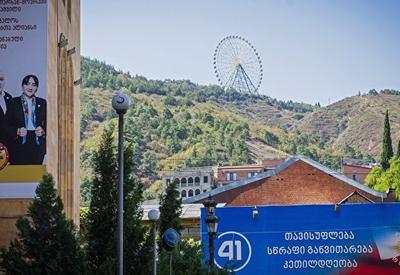 На выборах в Грузии по партийным спискам лидирует правящая партия