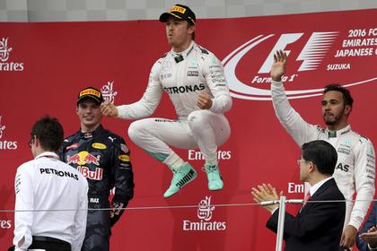 Росберг одержал победу квалификацию Гран-при Японии
