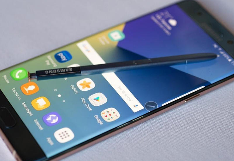 """Стала известна дата начала продаж восстановленного Galaxy Note 7 <span class=""""color_red"""">- ВИДЕО</span>"""