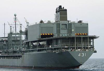 Иранские военные корабли направились в Баку