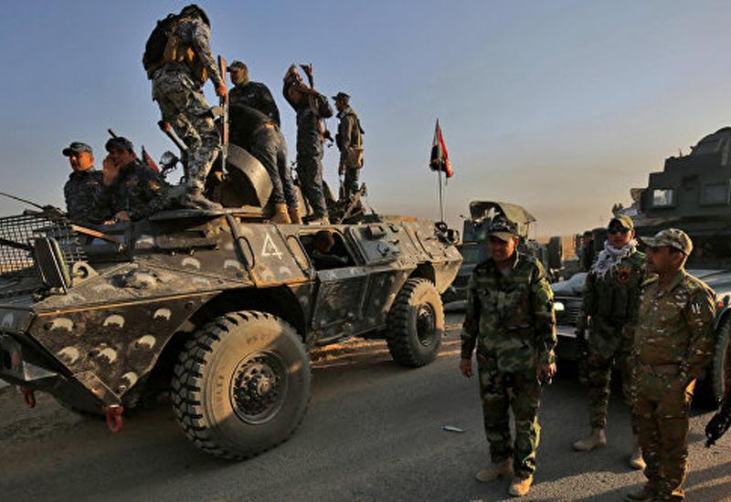 """Армия Ирака отбила у """"ИГ"""" нефтяную компанию и газовый завод вблизи Мосула <span class=""""color_red"""">- ВИДЕО</span>"""