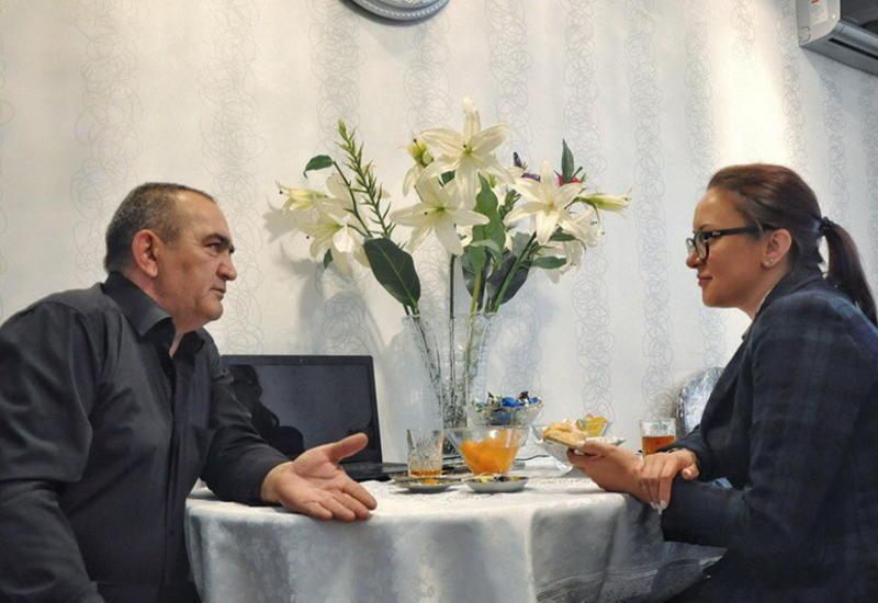 """Известный российский и азербайджанский актер рассказал о возвращении в кино <span class=""""color_red"""">- ФОТО</span>"""